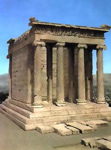 ancient athens temple of athena nike acropolis