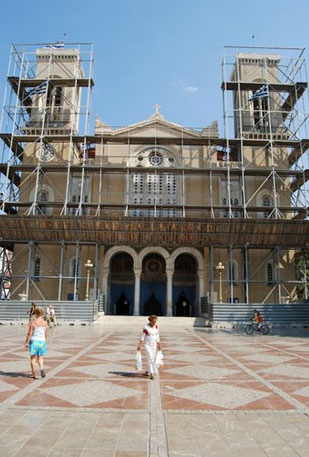 the orthodox cathedral of athens