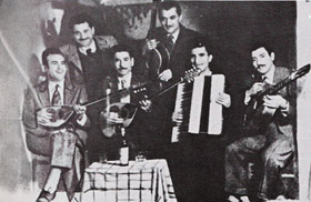 Rebetiko bouzouki players company