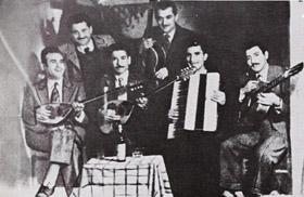 Rebetiko bouzouki players company