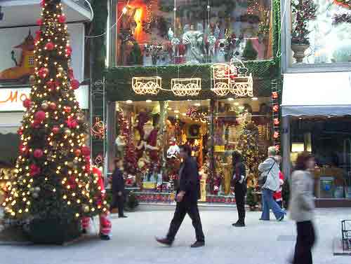 Athens photo gallery picture of athens christmas stores for The christmas store